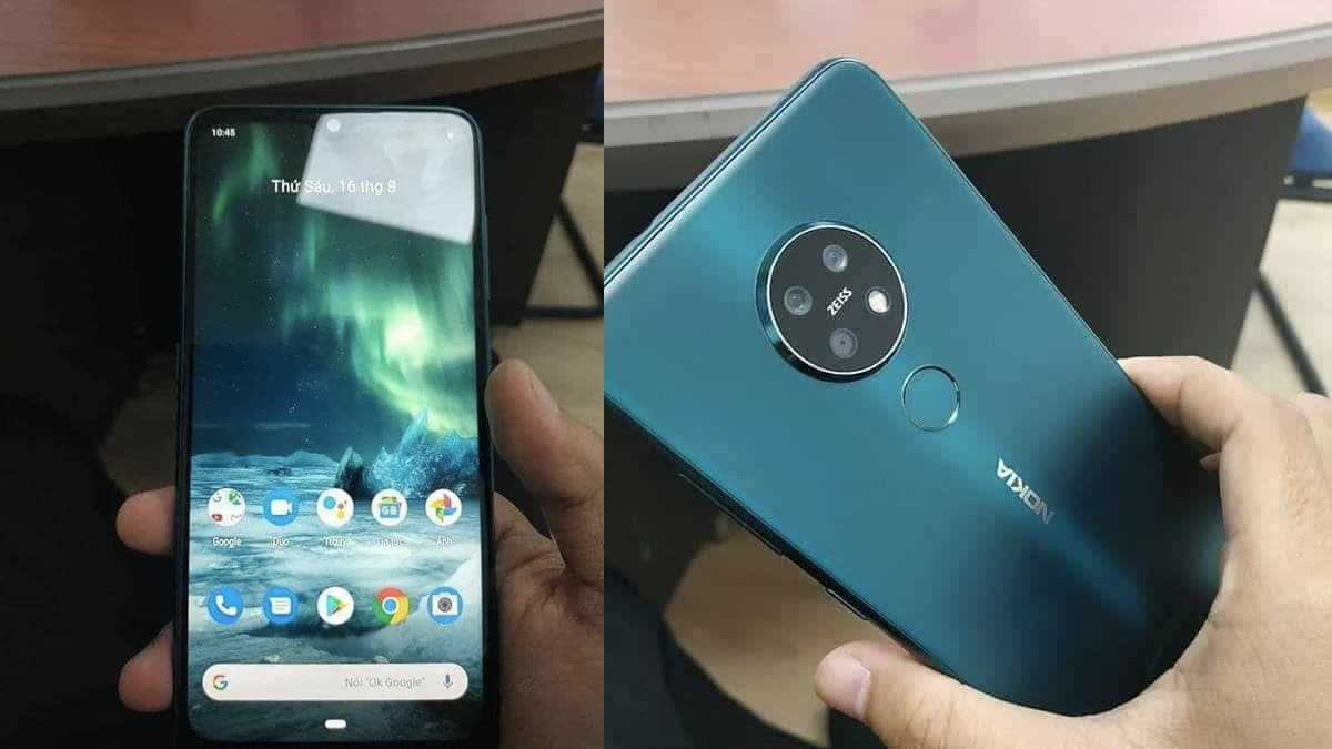 Photo of Nokia 7.2 Live Photos, Colour Variants Leaked Ahead of Expected IFA 2019 Launch