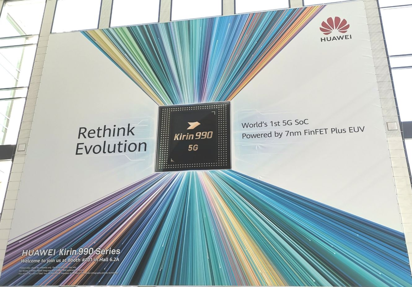 Photo of Huawei Kirin 990 confirmed by IFA 2019 banner