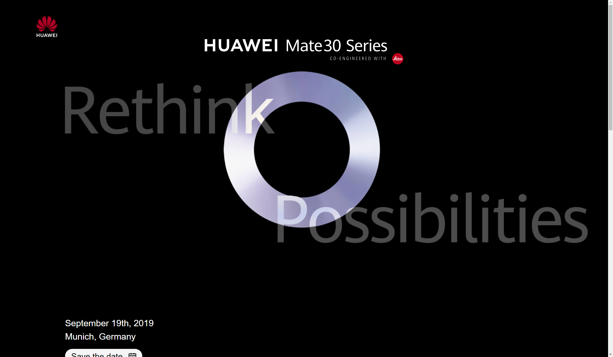 Photo of Huawei Mate 30 to launch on 19th of September in Munich