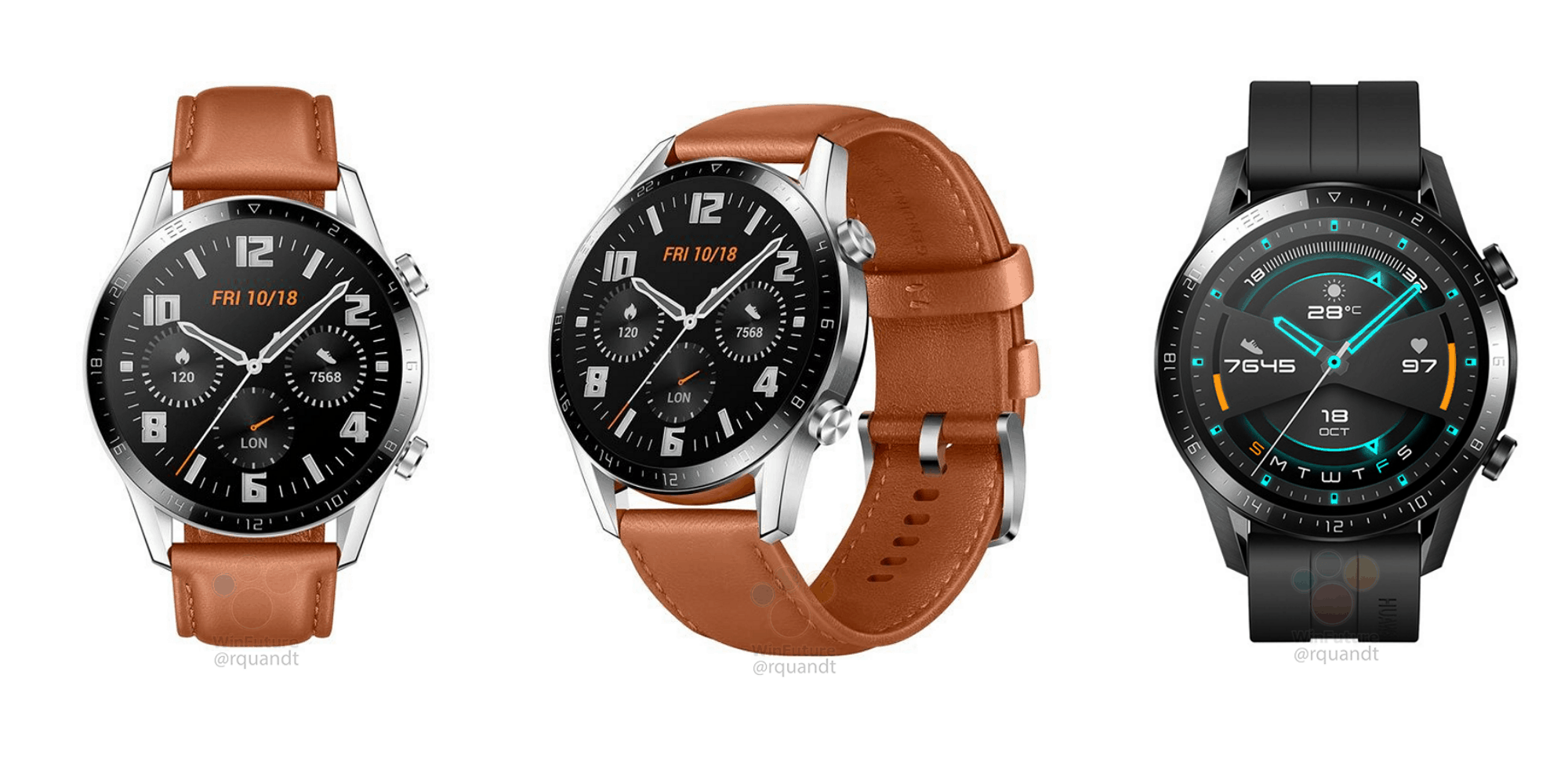 Photo of Huawei Watch GT 2 could be one of the best looking smartwatches to land at IFA 2019