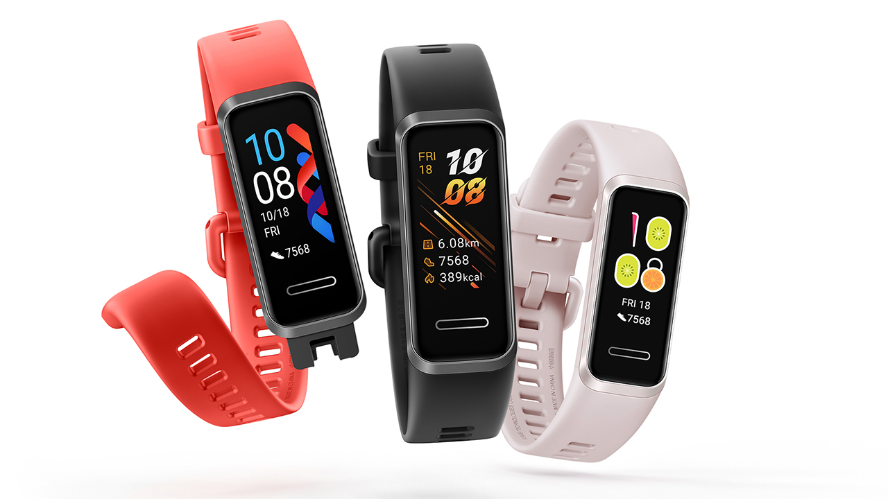 Photo of Huawei Band 4 has a color display, plugs into USB for charing