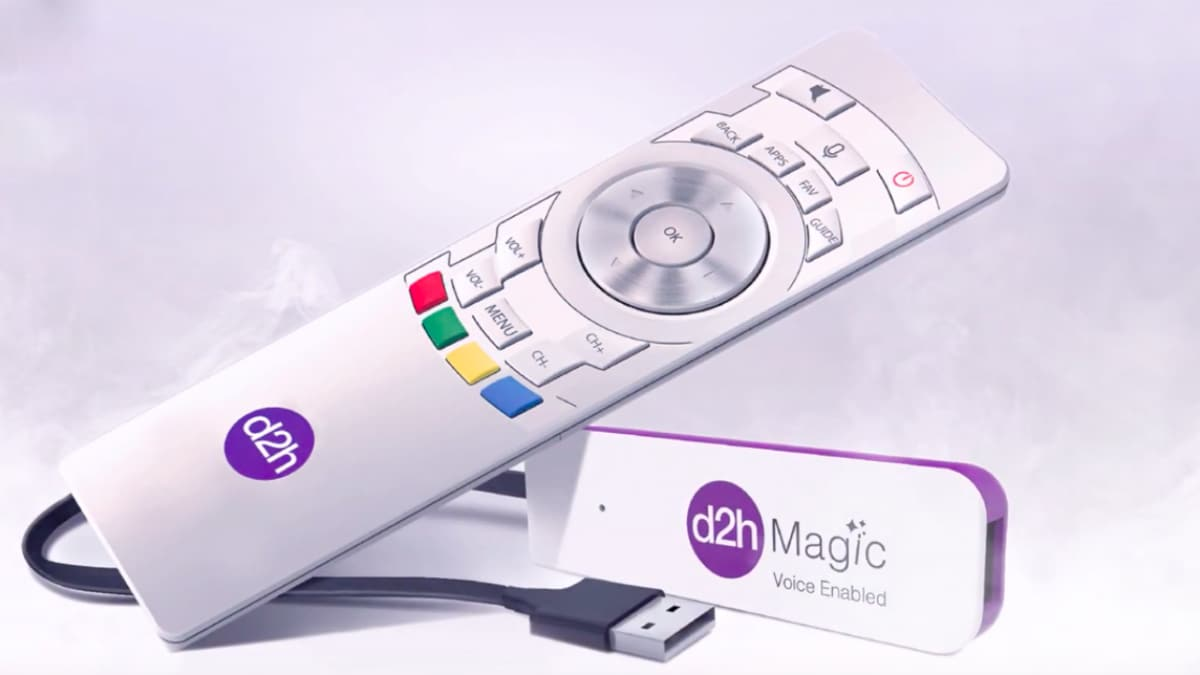 Photo of D2h Magic Voice Enabled Stick With Amazon Alexa Integration Launched at Rs. 1,199