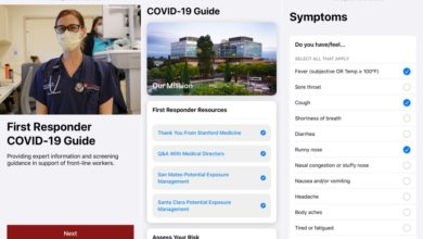 Photo of Apple joins hands with Stanford to launch an app for COVID-19 first responders