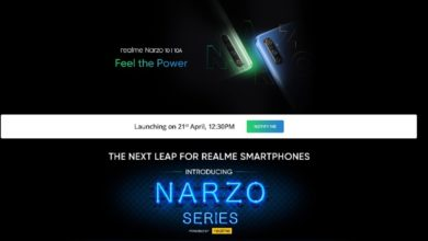 Photo of Realme Narzo 10, Realme Narzo 10A to Launch in India on April 21: How to Watch, Expected Price, Specifications