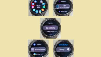 Photo of Here's your first look at the Samsung Galaxy Watch 3 with the screen powered on