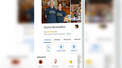 Photo of Google Maps and Search listings now show a Black-owned business attribute