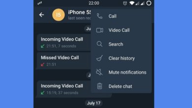 Photo of Telegram finally adds support for video calling, but only in beta for now