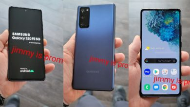 Photo of Samsung Galaxy S20 FE 5G Live Images, Key Specifications Surface Online